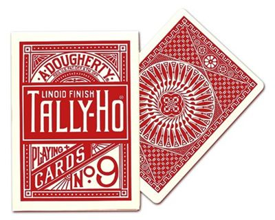 Tally Ho Circular red
