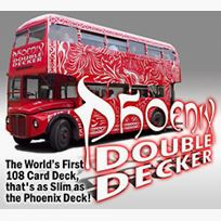 Phoenix Double Decker, 2 decks, blue
