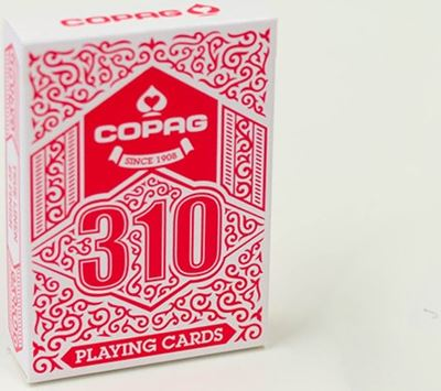 Copag 310, poker, red