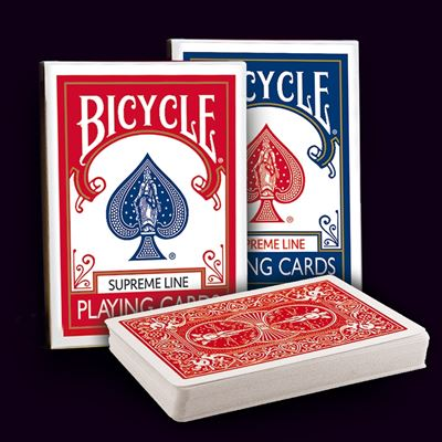 Bicycle Poker - Supreme line red